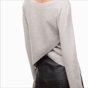 Aritzia Babaton Kitano Sweater- Gray- Size S